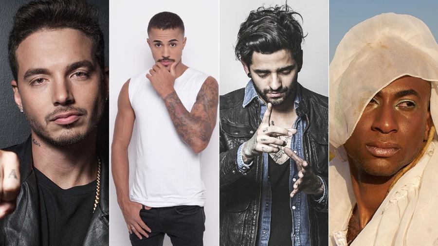 J Balvin, MC Livinho, Lucas (Fresno) e Caio Prado são os destaques da semana - Divulgação