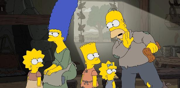 """Cena da 29ª temporada de """"Os Simpsons"""""""