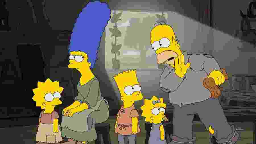 """Cena da 29ª temporada de """"Os Simpsons"""" - Divulgação"""