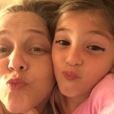 Isabela Garcia com a neta, Luisa - Reprodução/Instagram