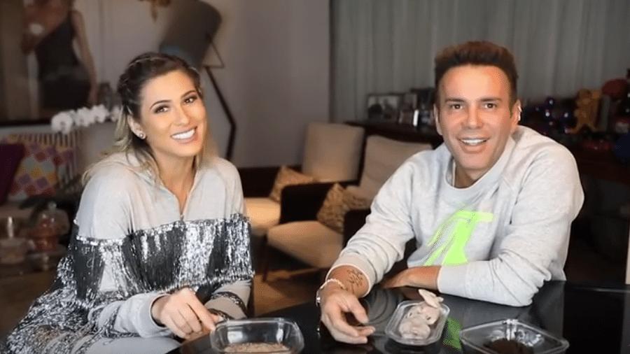 Lívia Andrade é entrevistada por Matheus Mazzafera - Reprodução/Youtube