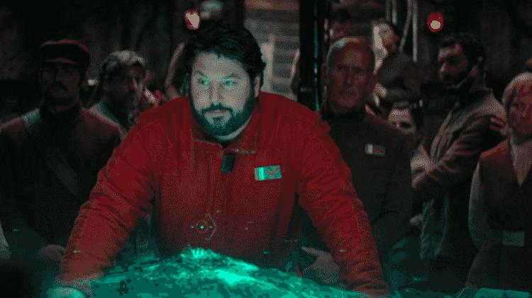 Greg Grunberg como Snap Wexley - Reprodução - Reprodução