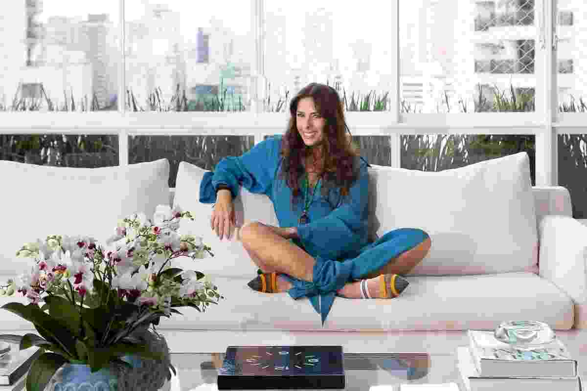 Adriane Galisteu mostra seu apartamento de 700 m² em São Paulo - Ricardo Bassetti/Casa Vogue