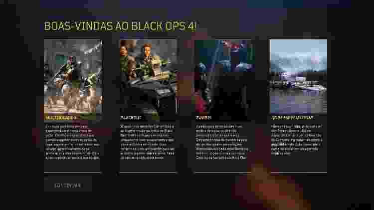 """Bem vindos a análise do """"Call of Duty: Black Ops 4"""" - Reprodução"""