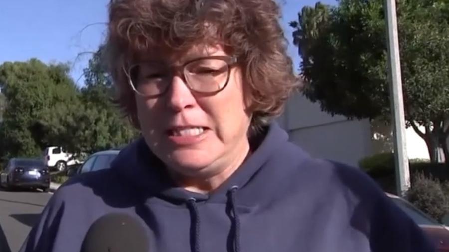 """""""Eu quero controle de armas"""", pediu Susan Schmidt - Reprodução"""