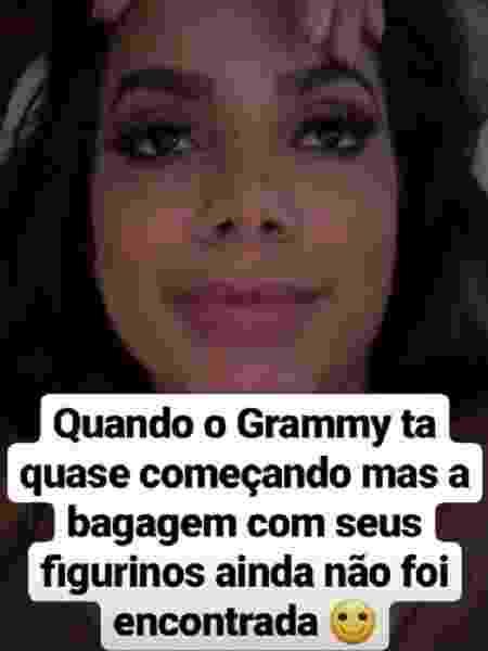 Anitta desabafa no Instagram - Reprodução/Instagram