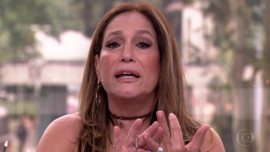 """Susana Vieira no """"Vídeo Show"""" - Reprodução/Globo"""