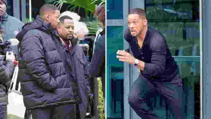 """Will Smith e Martin Lawrence rodam novo filme da franquia """"Bad Boys"""" - Backgrid/TMZ"""