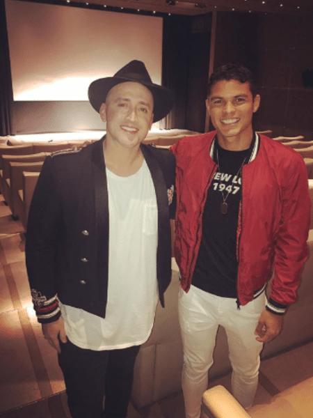 Paulo Gustavo e Thiago Silva - Reprodução/Instagram