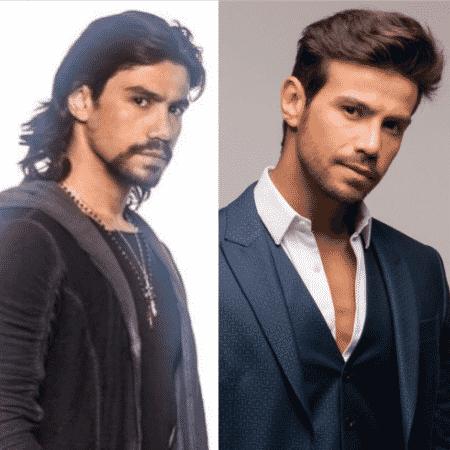 Mariano antes e depois de mudar o visual - Reprodução/Instagram