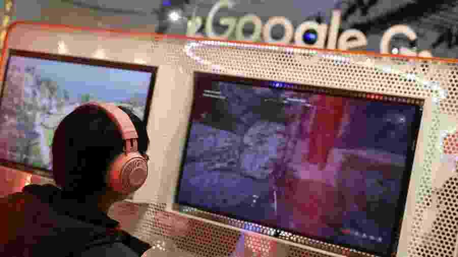 Google Stadia, plataforma de streaming para games, será lançada em novembro - Justin Sullivan/Getty Images/AFP