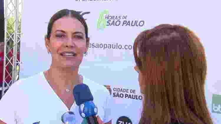 Patricia Naves, em entrevista ao TV Fama - Reprodução/RedeTV!