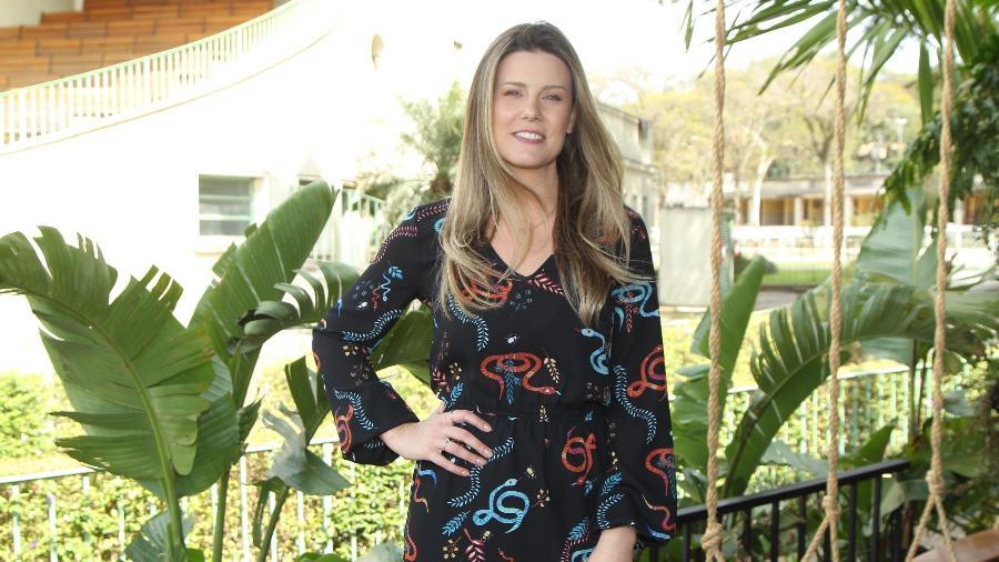 Daiana Garbin em evento da OX Cosmeticos em São Paulo - Marcello Sá Barreto/Brazil News