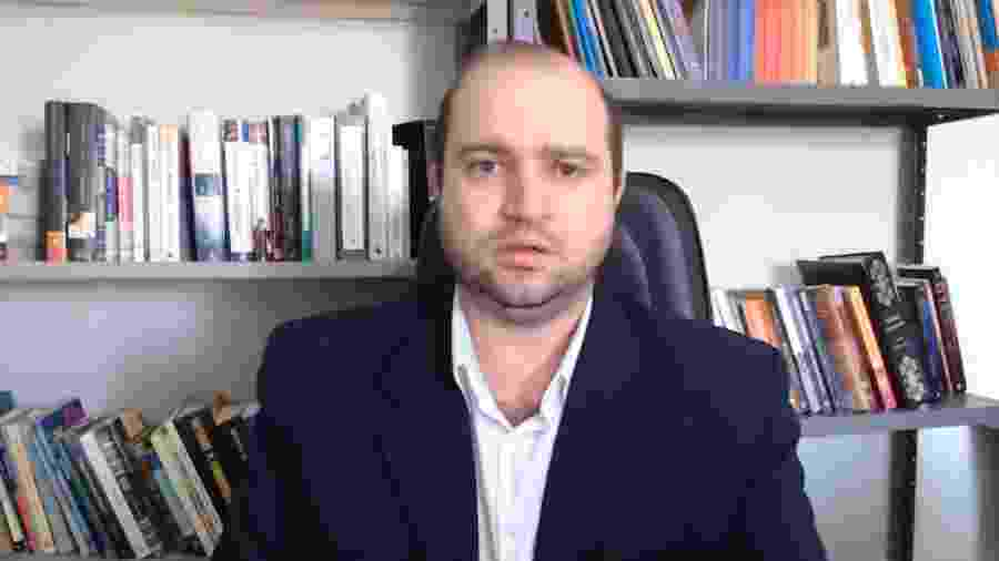 Dante Mantovani, novo presidente da Funarte - Reprodução/YouTube/Dante Mantovani