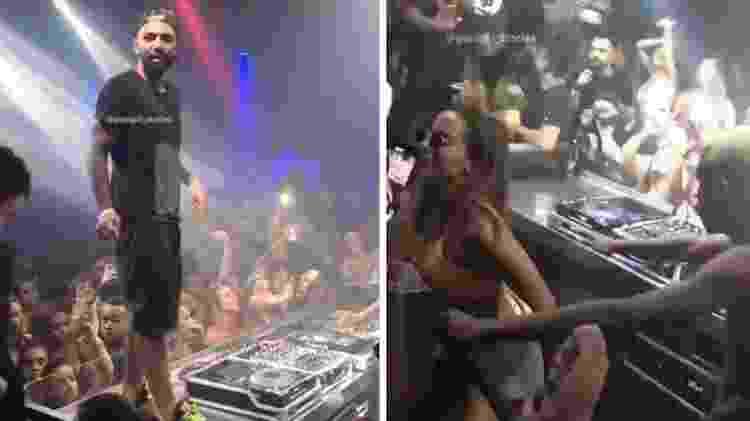 Gabigol e Anitta em balada de Jurerê - Reprodução/ Instagram - Reprodução/ Instagram