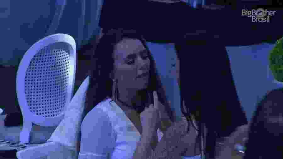 Bianca discute com Rafa Kalimann - Reprodução/Globoplay