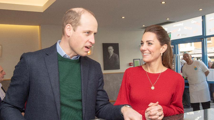 Príncipe William e Kate Middleton em evento no País de Gales - Pool / Reuters