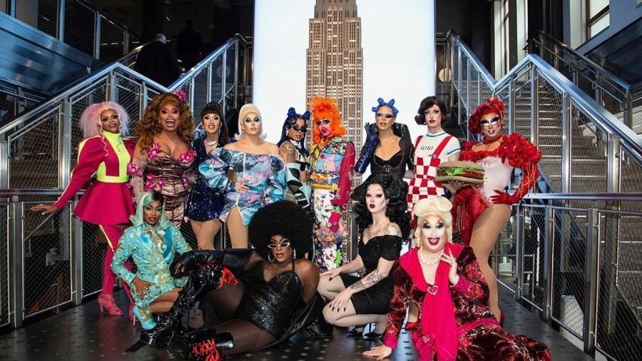"""O elenco da 12ª temporada de RuPaul""""s Drag Race - Instagram/Reprodução"""