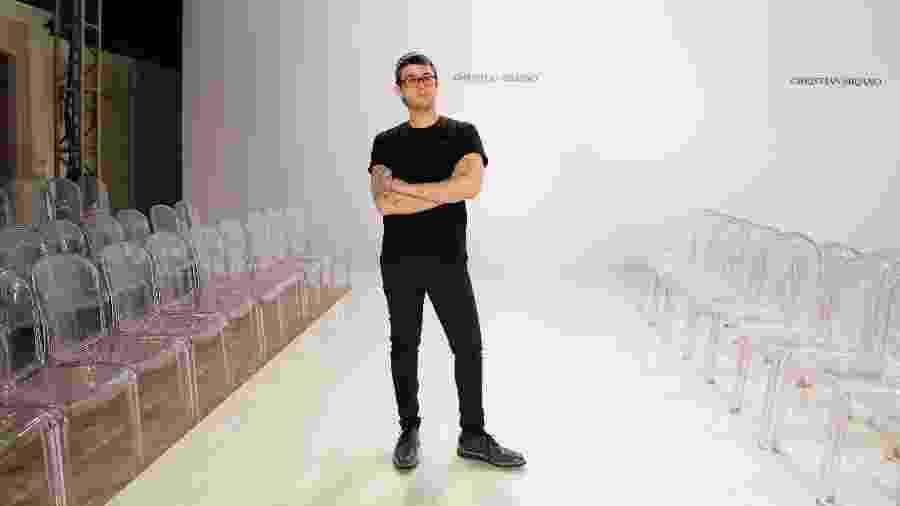 """Christian Siriano, designer de moda e vencedor da quarta temporada de """"Project Runway"""" - JP Yim/Getty Images"""