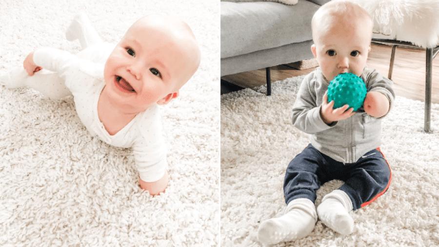 Sean, de 11 meses, nasceu com uma deficiência congênita - Reprodução / Instagram