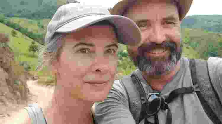 Trevor Paetkau e a esposa - Arquivo pessoal
