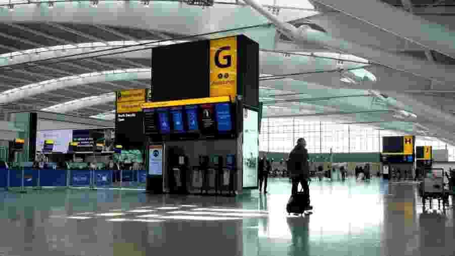 O aeroporto da cidade está fechado para voos comerciais e privados desde 25 de março - Richard Heathcote/Getty Images
