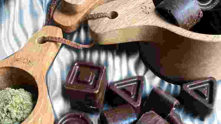 Chocolates com infusão de cannabis - Getty Images/iStockphoto - Getty Images/iStockphoto