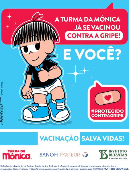 Vacina turma - Reprodução - Reprodução