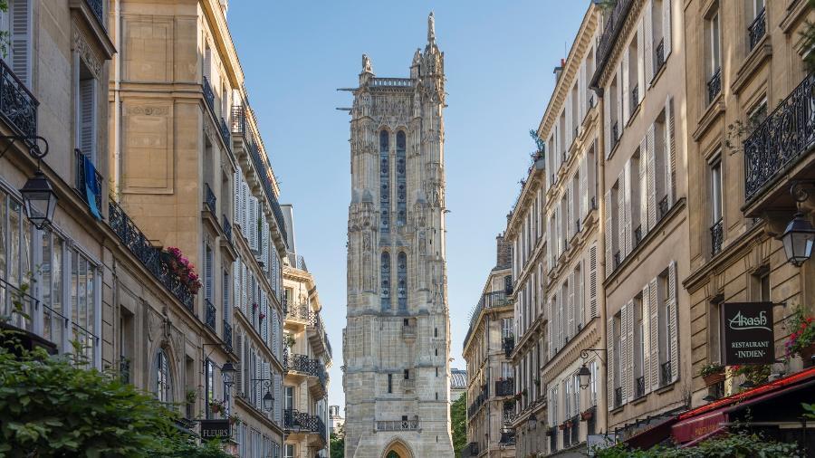 Torre Saint-Jacques: aberta para visitantes - Mauro Repossini/Getty Images/iStockphoto