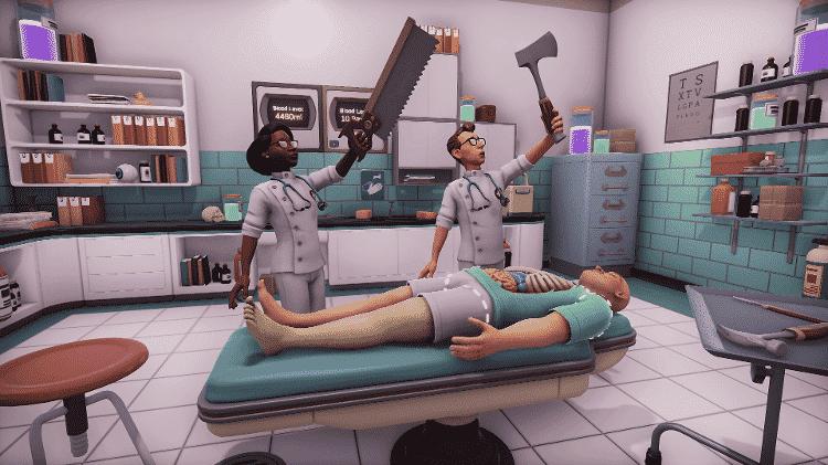 Surgeon Simulator 2 - Divulgação/Bossa Studios - Divulgação/Bossa Studios
