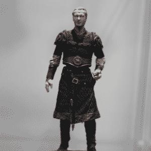 """Jorah Mormont, fiel escudeiro de Daenerys, também ganhou seu boneco em exposição na Comic-Con dedicada à série """"Game of Thrones"""" - Reprodução/Twitter oficial/@GameofThrones"""