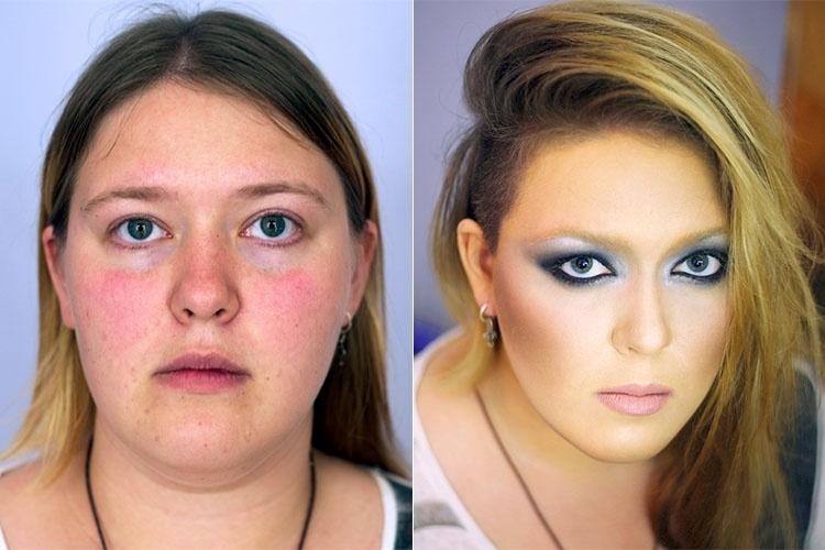 Poder da maquiagem