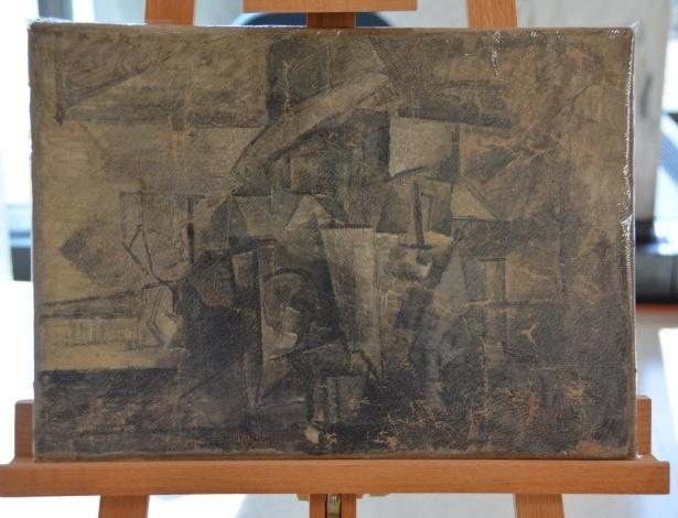 """O quadro """"La Coiffeuse"""", do pintor Pablo Picasso, avaliado em US$ 15 milhões - AFP Photo"""
