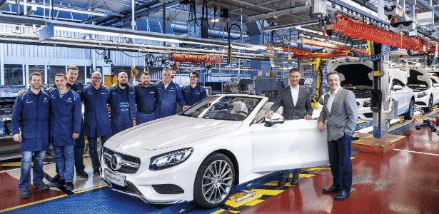 Classe S Coupé conversível em Sindelfingen é feito por mais operários e menos robôs - Divulgação