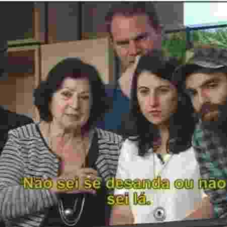"""Mãe e irmãos de Marcelo acompanham a final do """"Masterchef: Profissionais"""" - Reprodução / Band"""