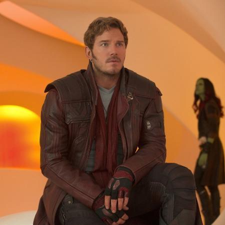 """Chris Pratt como Peter Quill em """"Guardiões da Galáxia Vol. 2"""" - Divulgação"""