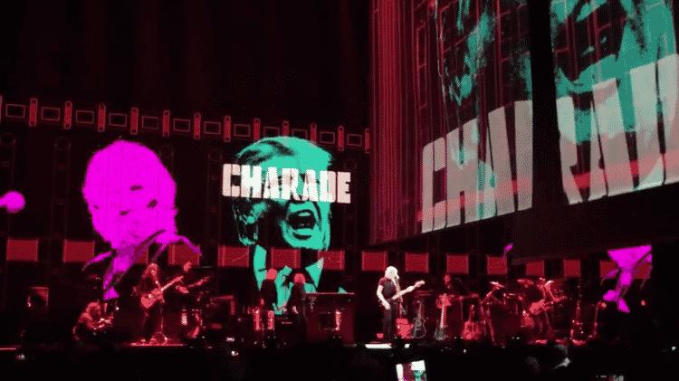 Roger Waters critica Donald Trump em apresentação na cidade de New Orleans  - Reprodução/YouTube - Reprodução/YouTube