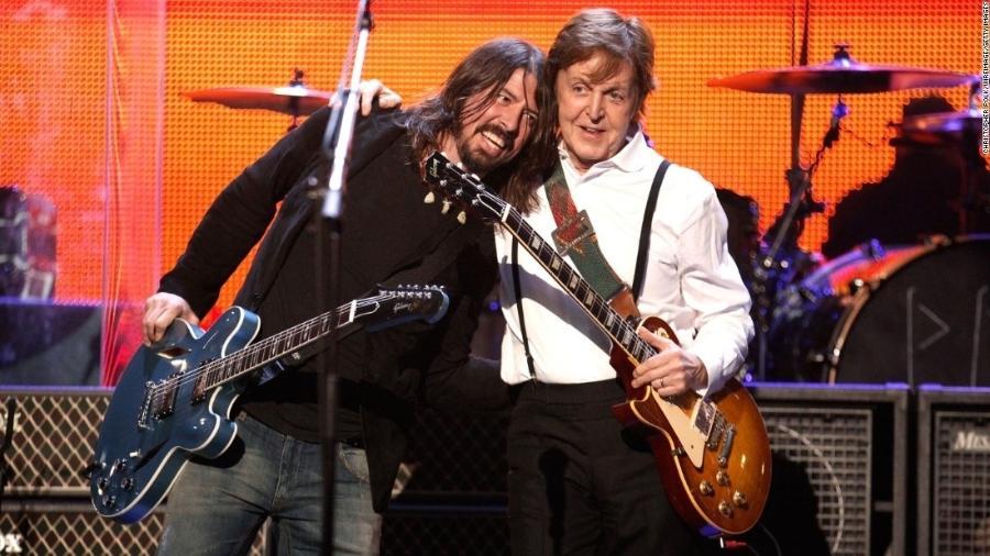 Dave Grohl e Paul McCartney: amigos na saúde e na doença  - Reprodução