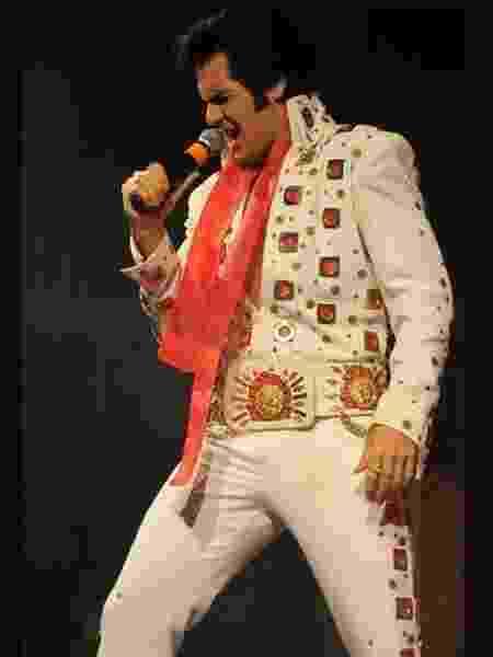Renato Carlini é cover de Elvis Presley há 20 anos - Divulgação - Divulgação