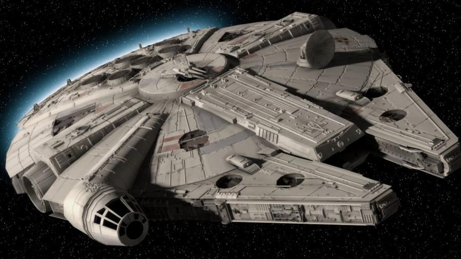 """Millenium Falcon, dos filmes """"Star Wars""""  - Reprodução"""