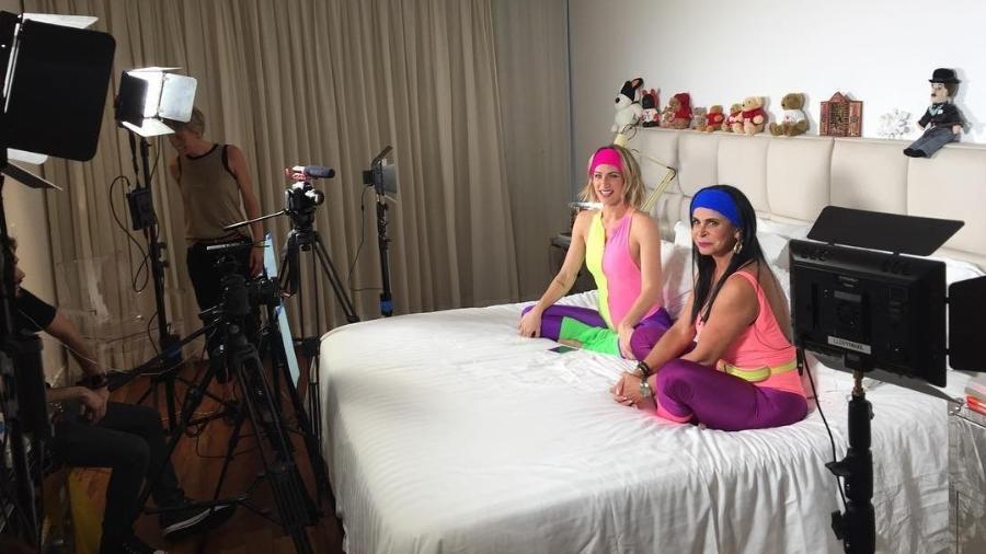 Giovanna Ewbank e Gretchen - Reprodução/Instagram/mariagretchen