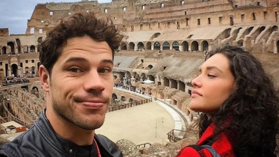 José Loreto e Débora Nascimento na Itália - Reprodução/Instagram/deboranascimento