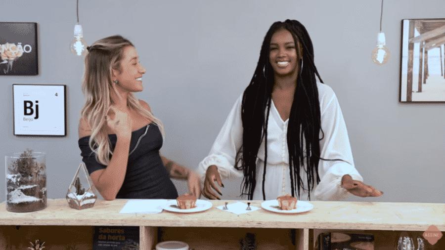 Gabriela Pugliesi entrevista Iza - Reprodução/YouTube