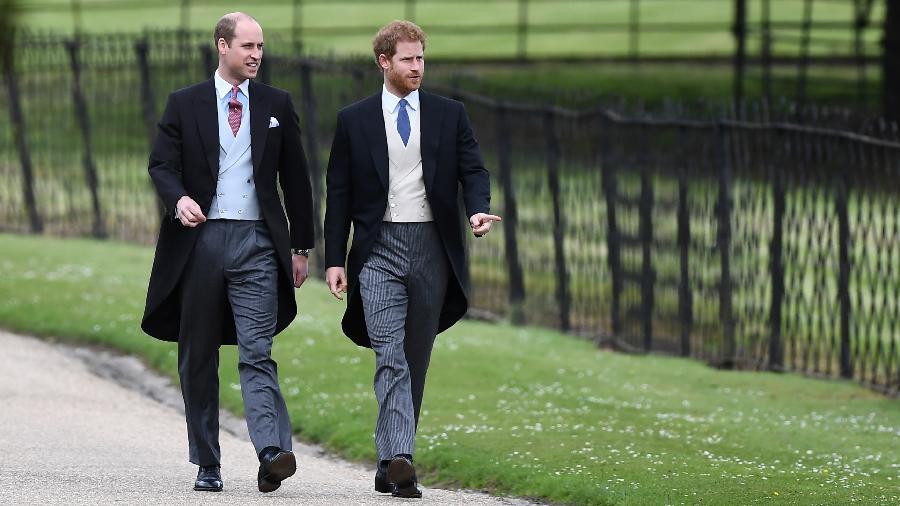 Príncipe William e príncipe Harry - Getty Images