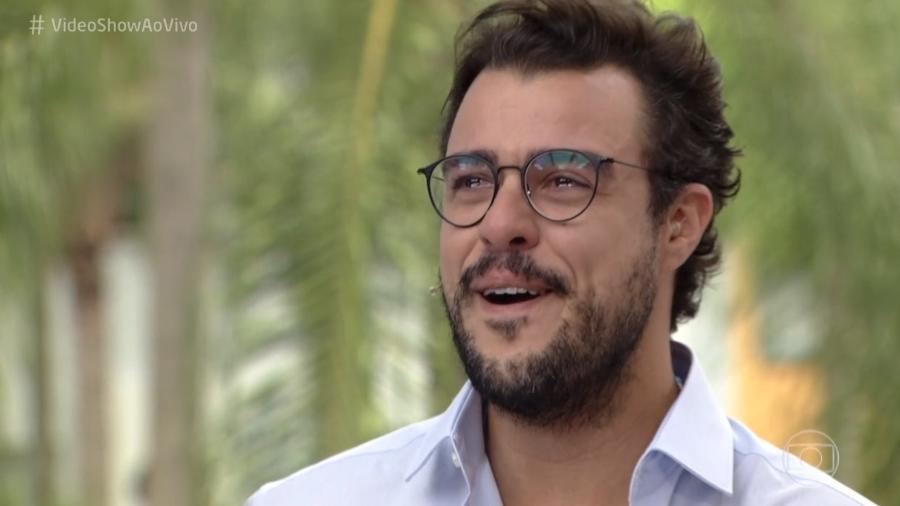 """Joaquim Lopes se emociona ao despedir-se do """"Vídeo Show"""" após três anos; ele está no elenco da próxima novela das 6 - Reprodução/Globo"""