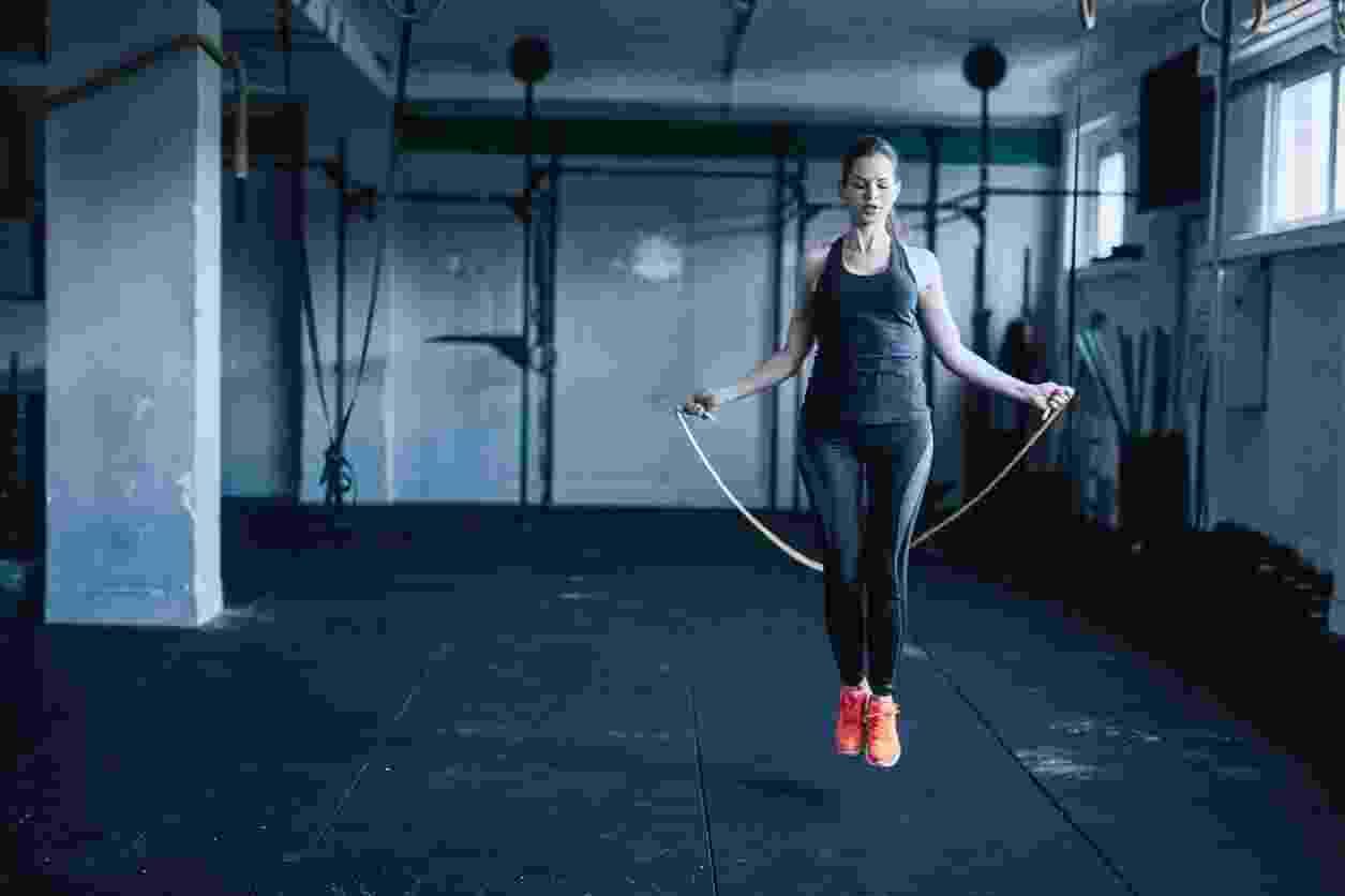 Pular corda, exercício, treino - iStock