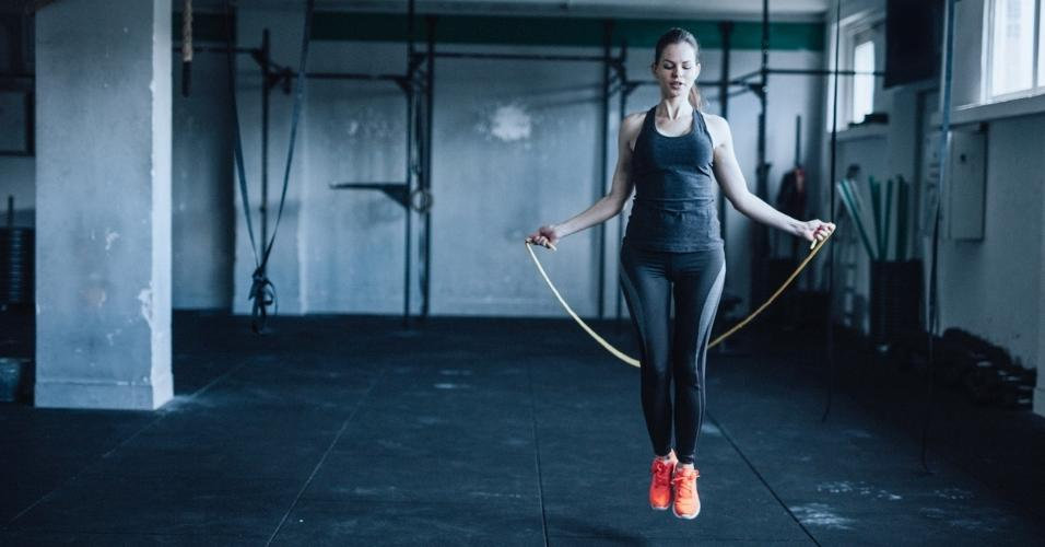Pular corda, exercício, treino