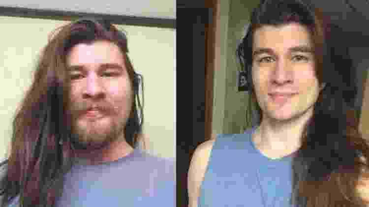 Antes e depois: Jeffrey Kendall perde 31 kg e fica parecido com príncipe da Disney - Reprodução - Reprodução