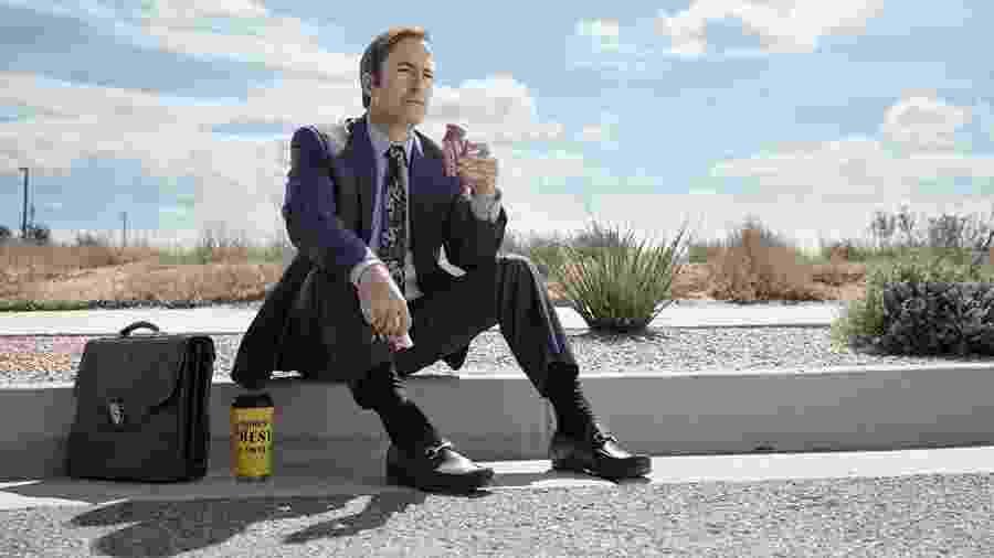 """Bob Odenkirk como Jimmy McGill em """"Better Call Saul"""" - Divulgação"""