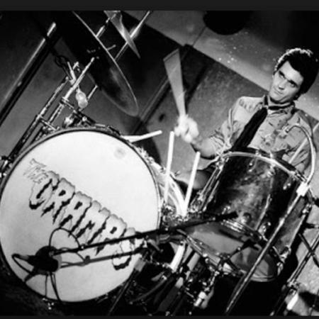 Nick Knox foi baterista do The Cramps - Reprodução